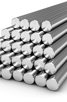 en series steel round bars, metal industry in india